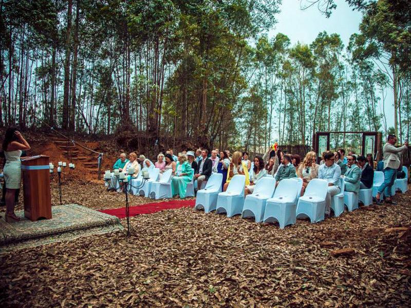 Lythwood forest wedding