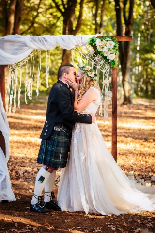 Lythwood Lodge Wedding - Jesse and Colin 5th May 2018