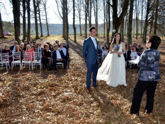 Lythwood forest wedding
