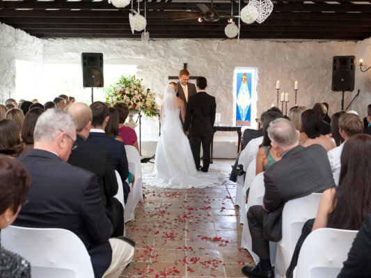 Lythwood wedding- Chapel ceremony