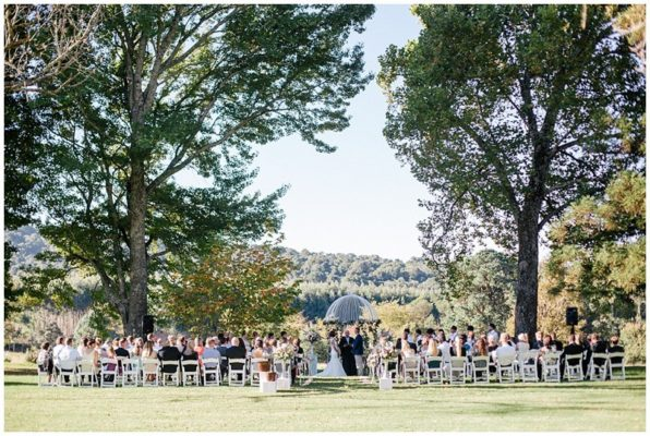 Lythwood weddings Garden Ceremony